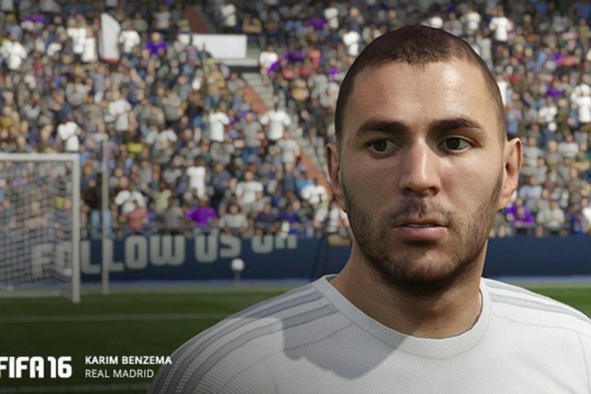 Benzema en el FIFA 16. Foto:EA Sports. Imagen Por: