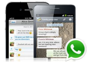 WhatsApp es la principal aplicación de mensajería instantánea de la actualidad. Foto:Tumblr. Imagen Por: