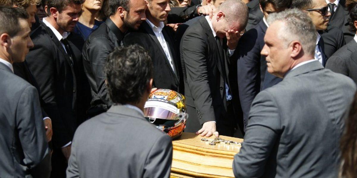El mundo de la Fórmula Uno lloró el adiós de Jules Bianchi
