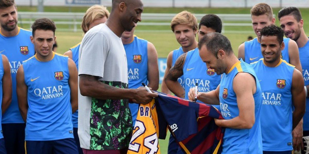 Kobe Bryant sueña con calzarse la camiseta de Barcelona