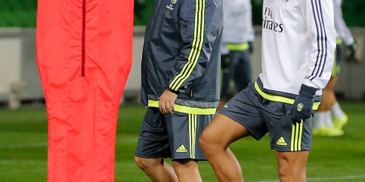 Cristiano Ronaldo no se entiende con Rafa Benítez