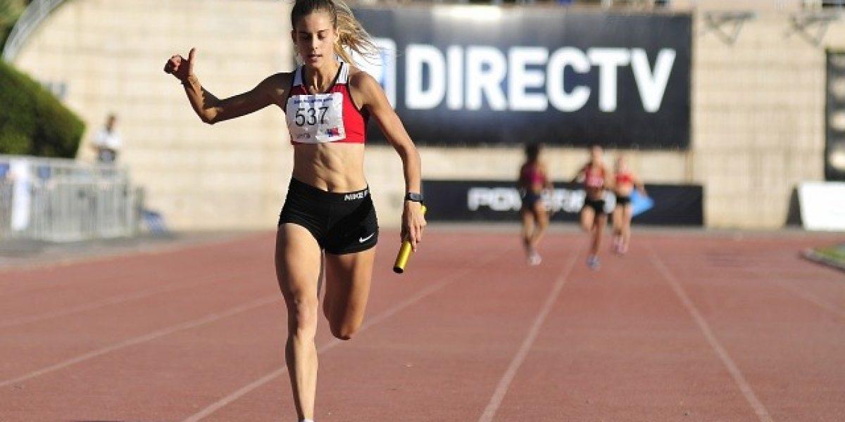 Isidora Jiménez clasificó a las semis de los 100 metros en Toronto 2015