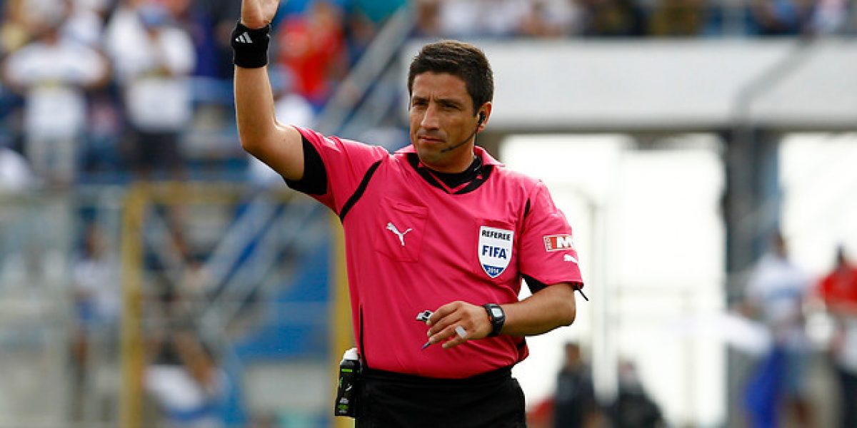 Eduardo Gamboa será el árbitro del partido entre U. Española y Colo Colo