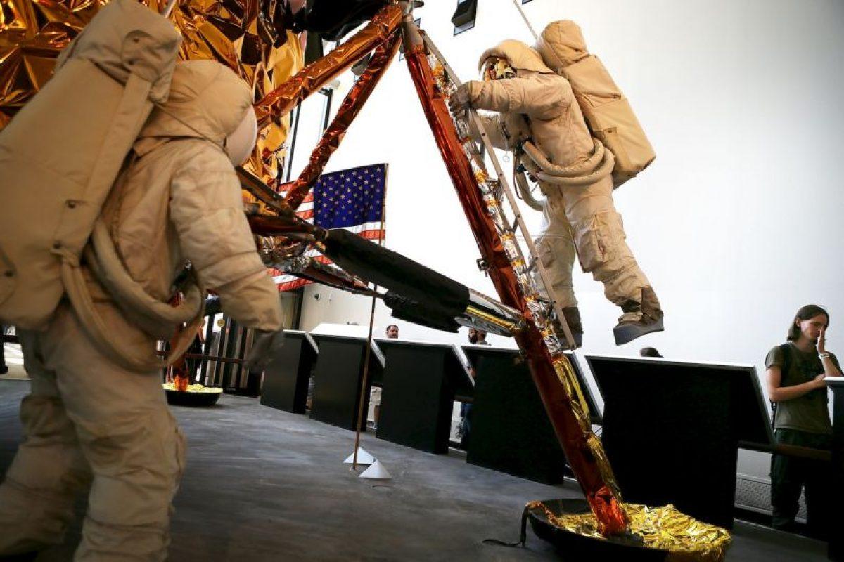 El Instituto Smithsonian, quiere tener listo el traje para el 50 aniversario del descubrimiento. Foto:Getty Images. Imagen Por: