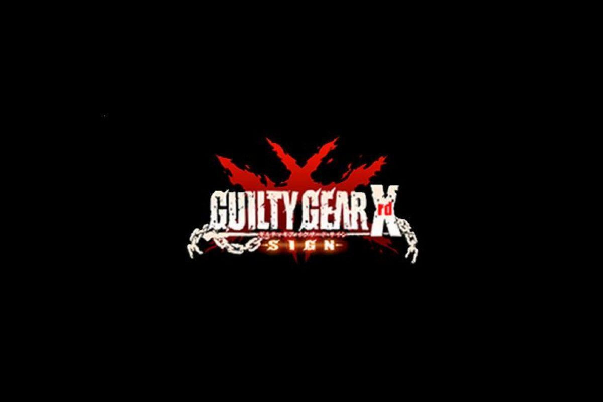 Guilty Gear X Sign Foto:EVO. Imagen Por: