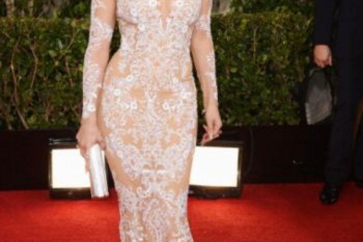 1. Jennifer López en los Premios Globo de Oro en 2013 Foto:Getty Images. Imagen Por:
