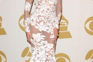Beyoncé en los premios Grammy en 2014 Foto:Getty Images. Imagen Por: