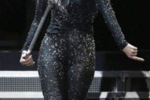 """5. JLo luciendo este estilo en su gira """"Dance Again"""" en 2012. Foto:Getty Images. Imagen Por:"""