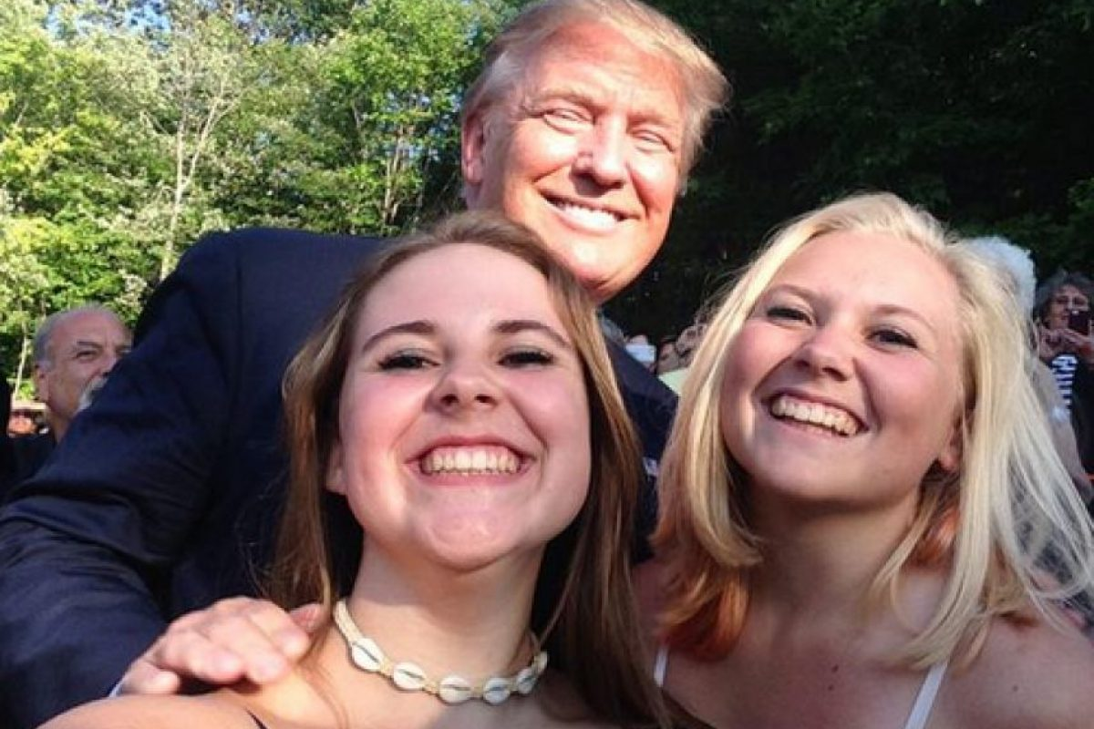 Donald Trump (Partido Republicano) Foto:Vía Twitter.com/PrezSelfieGirls. Imagen Por:
