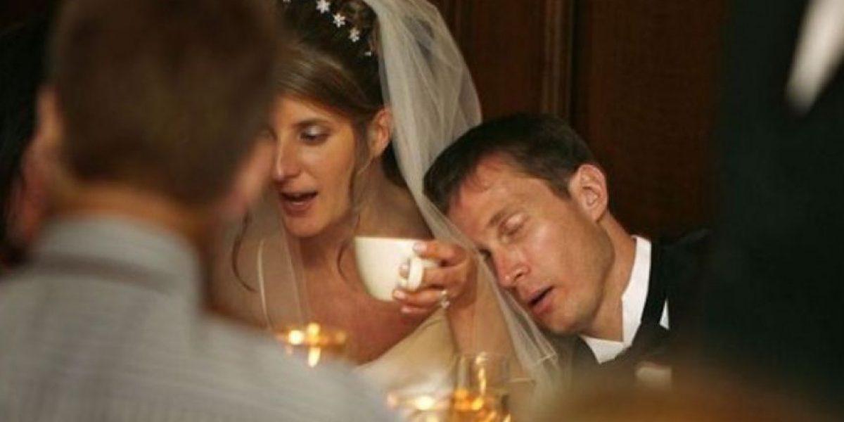 VIDEO: Dama de honor es noqueada en pleno baile de bodas