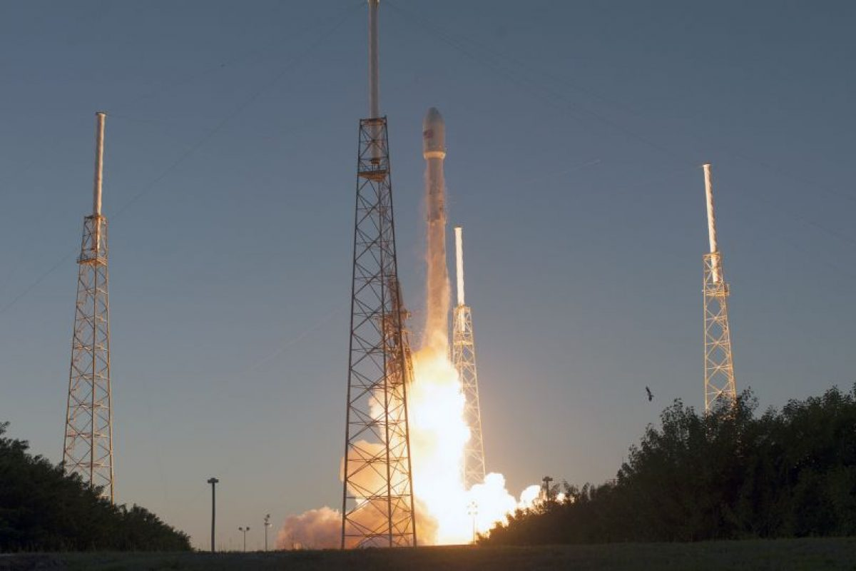 Capturada por el satélite DSCOVR de la NASA. Foto:Vía flickr.com/nasa_goddard. Imagen Por: