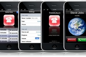 App Fake Call Foto:Reproducción. Imagen Por: