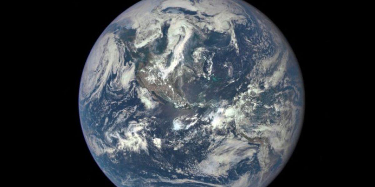 NASA comparte primera imagen de la Tierra totalmente iluminada