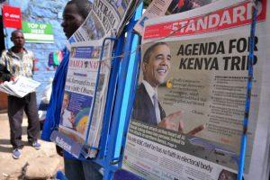 Principalmente porque los actos homosexuales son ilegales en Kenia. Foto:AFP. Imagen Por: