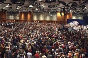 Uno de los actos de campaña de Trump, donde reunió a más de 17 mil personas, de acuerdo a sus cifras. Foto:Instagram.com/RealDonaldTrump. Imagen Por: