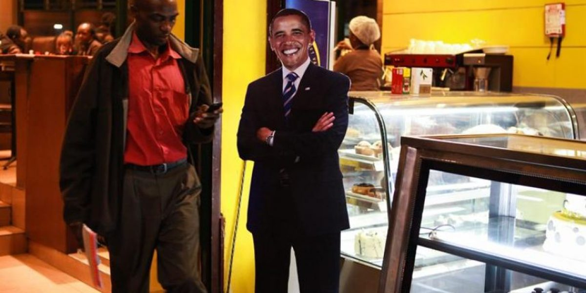 Obama visita por primera vez Kenia