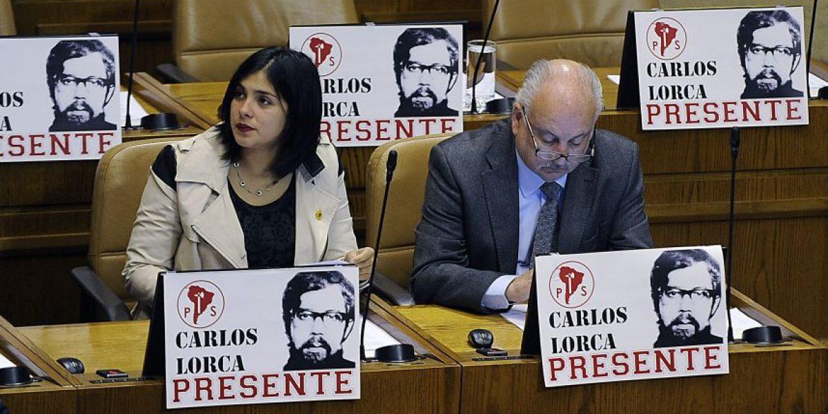 Cámara rinde homenaje a ex diputado Carlos Lorca