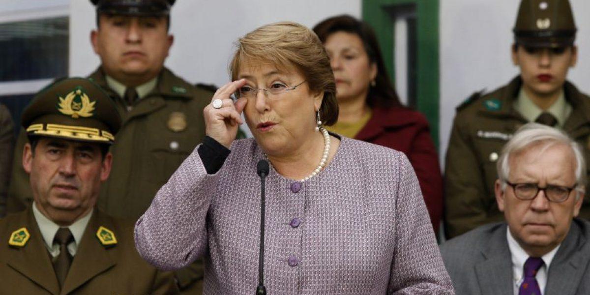 Bachelet: En la solución de la delincuencia no hay atajo