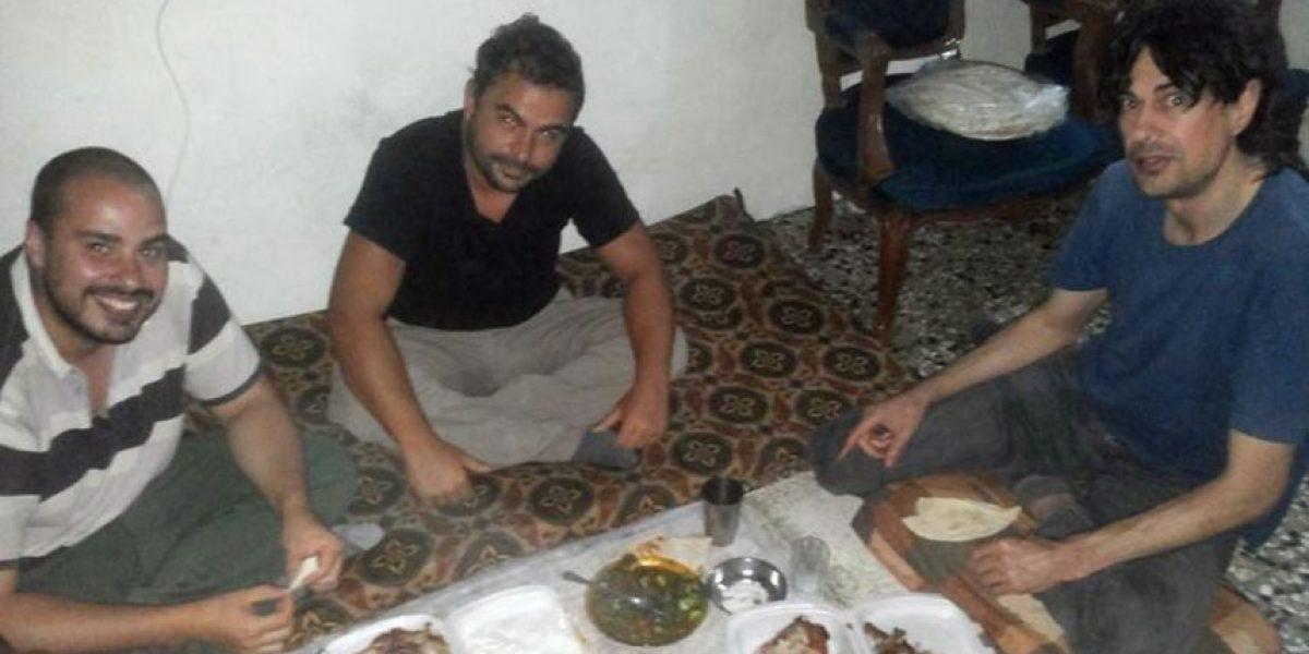 España busca a sus periodistas en Siria