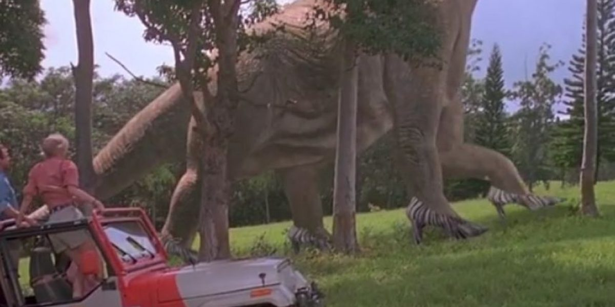 ¡Notable! Así sería Jurassic Park si todos usaran tacones