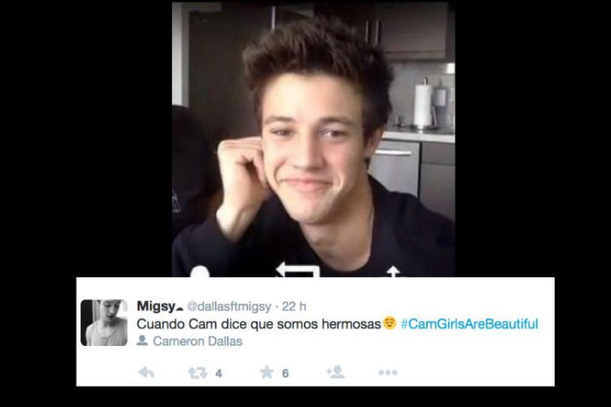 Cameron Dallas es una estrella en Vine y en Youtube y tiene solo 20 años. Foto:vía Twitter. Imagen Por: