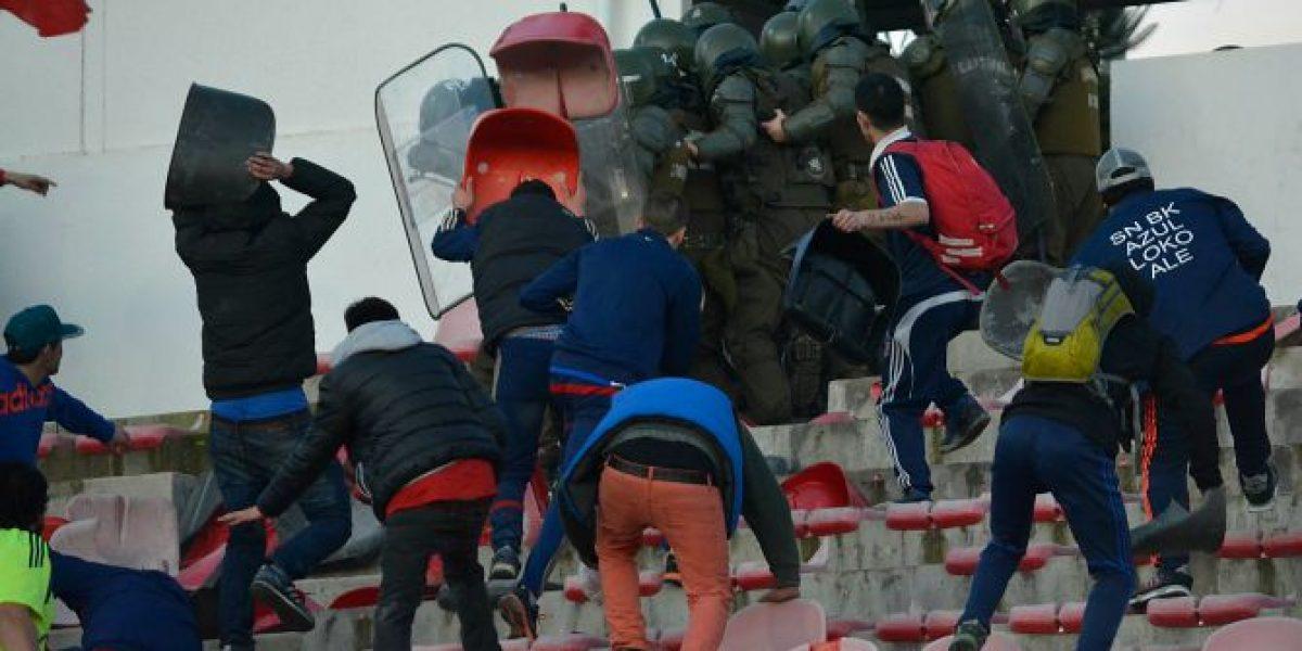 Curicó no venderá entradas a los hinchas de la U para el partido de Copa Chile