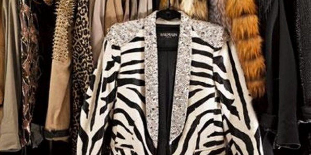 Los lujosos armarios de las celebridades