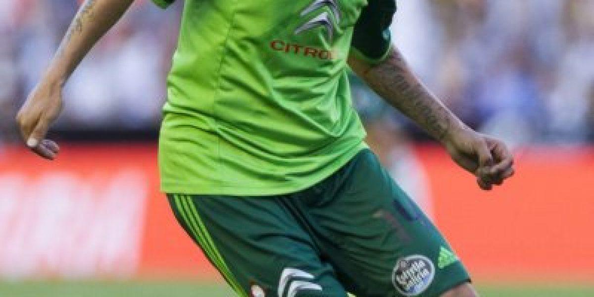 Derrotados: Celta de Orellana y Hernández sucumbió ante Galatasaray