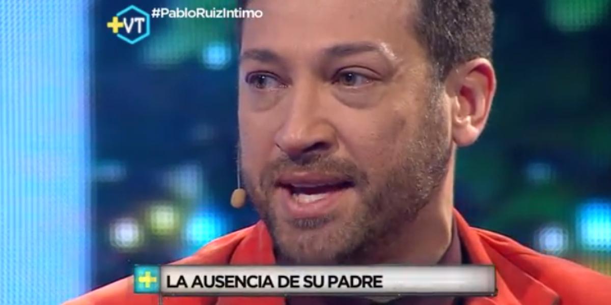 Pablo Ruiz reveló su mayor dolor: La ausencia y muerte de su padre