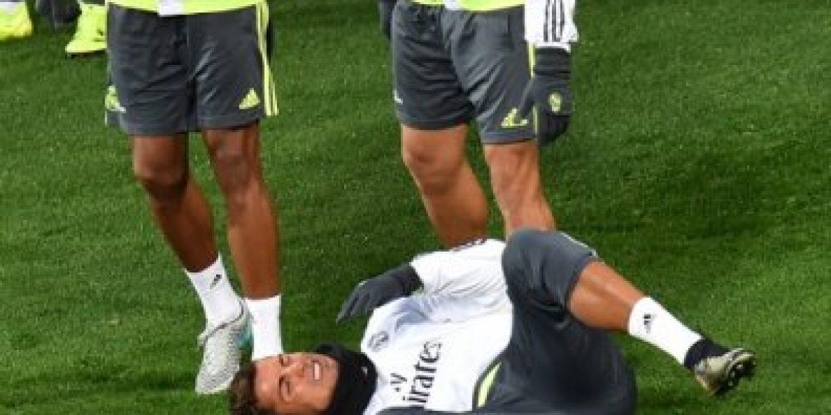 La última de Pepe: estuvo a punto de lesionar a un compañero