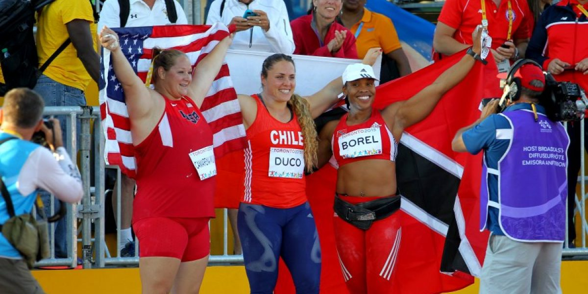 Sigue la cosecha: Natalia Duco logró la medalla de bronce y clasificó a Río 2016