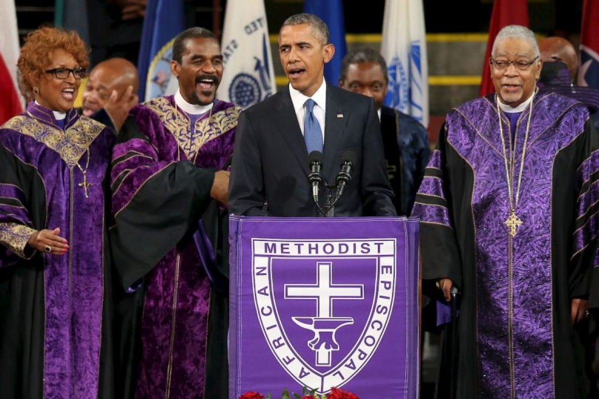 Su media hermana Auma Obama cree que es increíble. Foto:Getty Images. Imagen Por: