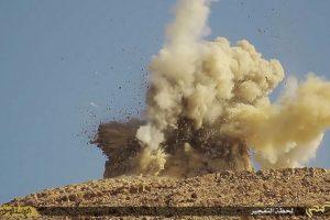 Sin embargo, dos líderes del ISIS fueron quienes la detonaron. Foto:AP. Imagen Por: