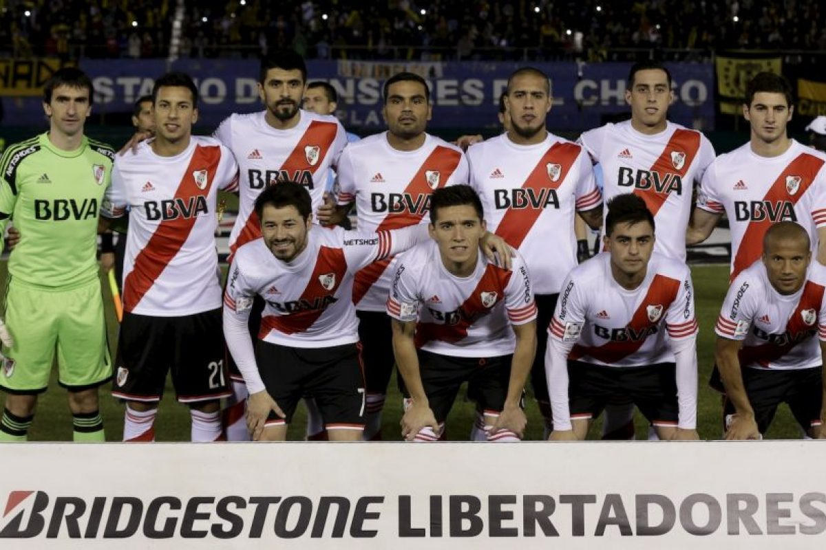 """Los """"Millonarios"""" empataron 1-1 con Guaraní en el duelo de vuelta de semifinales. Foto:AP. Imagen Por:"""