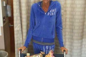 La modelo ha bajado 23 kilos Foto:Vía gofundme.com/lisabrown. Imagen Por: