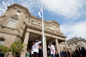 Este lunes se abrieron las embajadas en ambos países. Foto:AFP. Imagen Por: