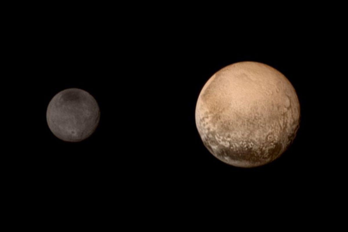 1. El tamaño de Plutón- Foto:AFP. Imagen Por: