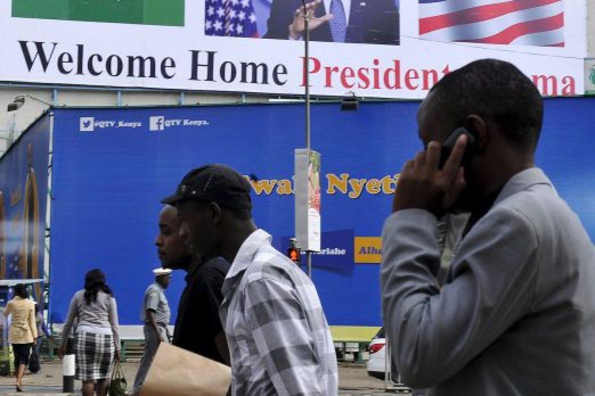 Hay mensajes de bienvenida en todo el país Foto:AFP. Imagen Por: