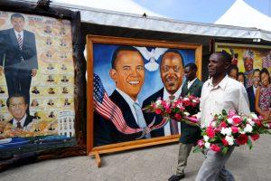 Algunas fueron con el presidente keniano Foto:AFP. Imagen Por: