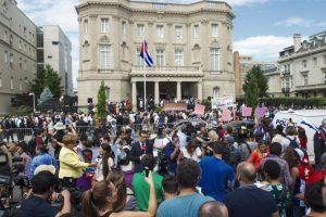 3. Participación de Cuba en la Cumbre de las Américas 2015- Foto:AFP. Imagen Por: