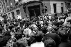 Fotografía de Rodrigo Rojas De Negri. Santiago en 1986. Foto:Facebook Fotografías de Rodrigo Rojas De Negri. Imagen Por: