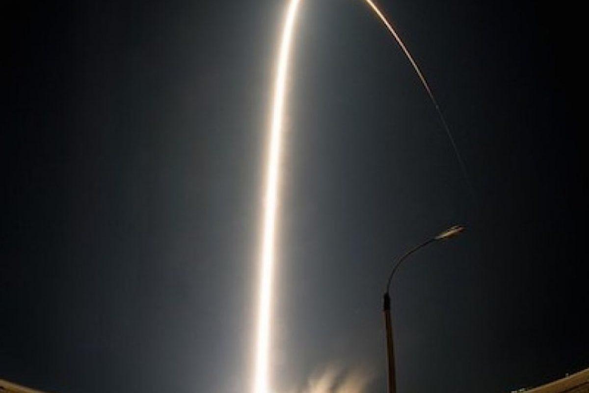 22 de julio: El lanzamiento de la cápsula espacial Soyuz Foto:Instagram.com/NASA. Imagen Por: