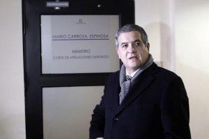 Ministro Mario Carroza Foto:Agencia Uno. Imagen Por: