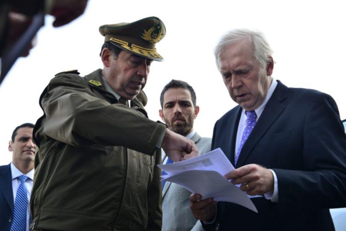 Foto:Omar Pérez / Carabineros. Imagen Por: