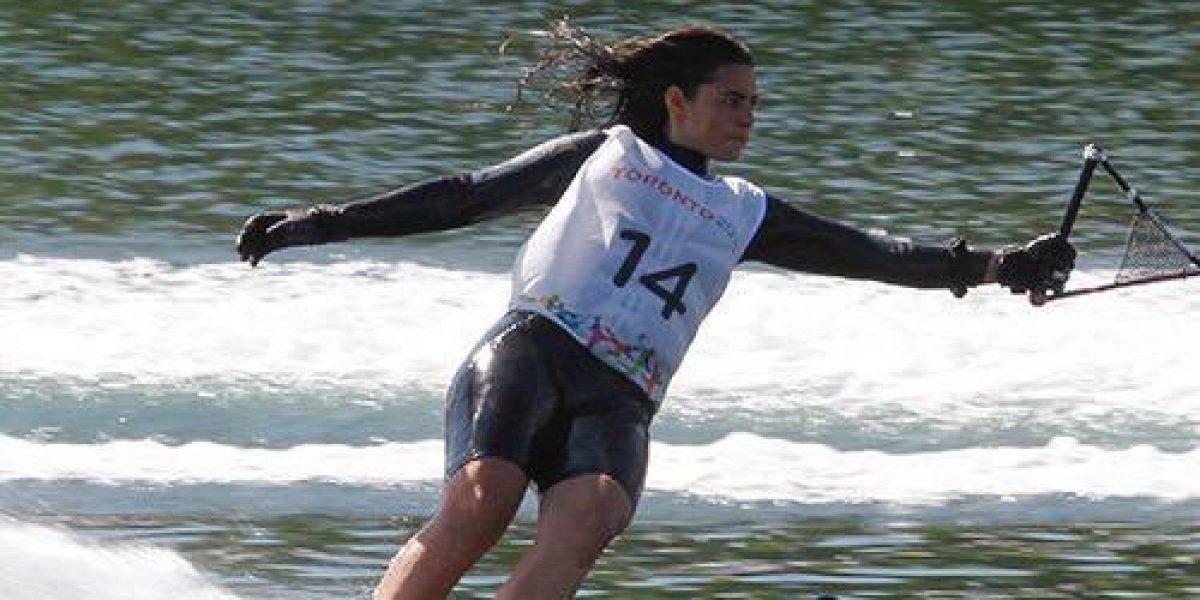 Fernanda Naser obtiene medalla de bronce para Chile en esquí náutico