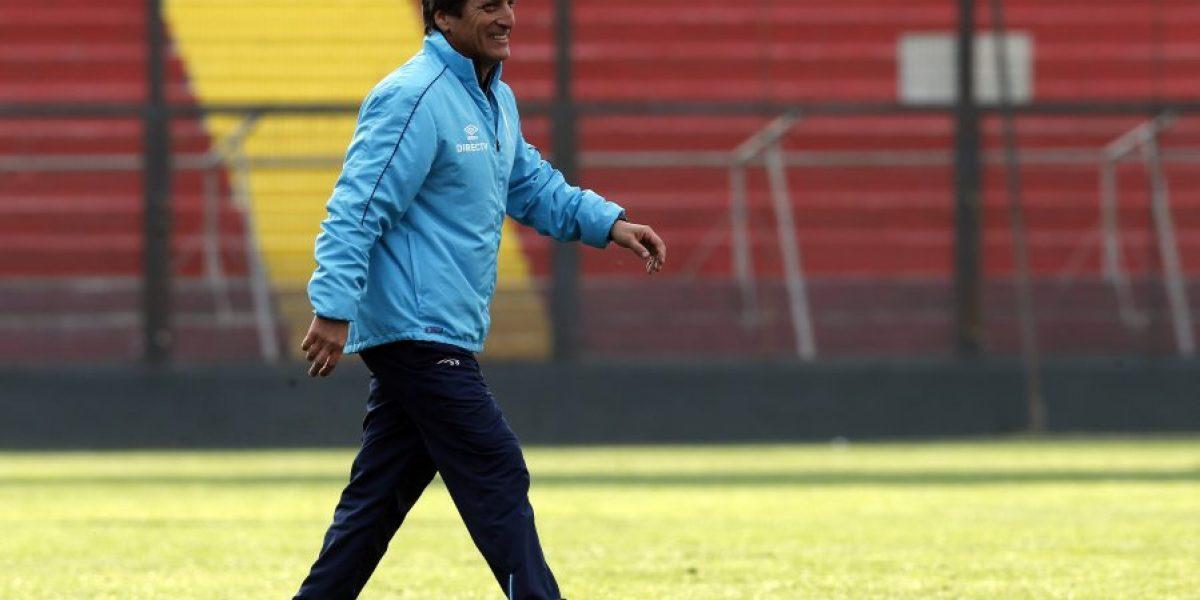 Mario Salas tiene confianza para el debut:
