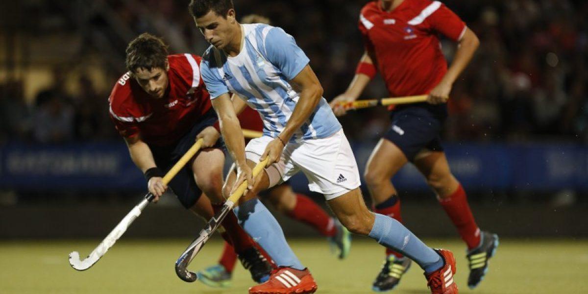 Por el bronce: Equipo masculino de hockey césped cayó ante Argentina en Toronto
