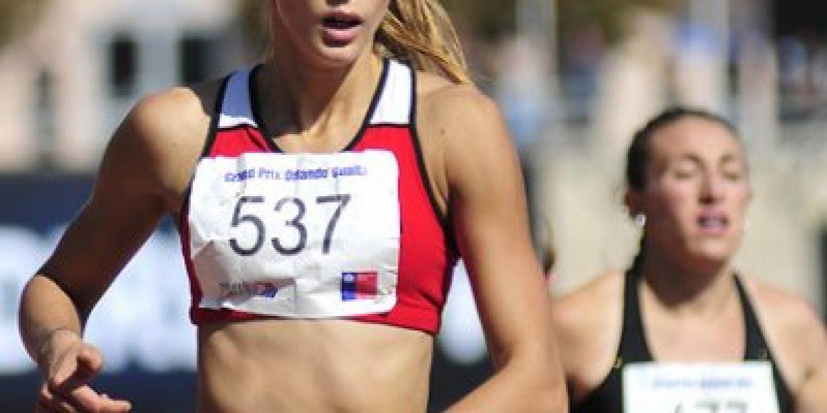 Isidora Jiménez clasifica a JJOO de Río y logra nuevo récord chileno en 200mts