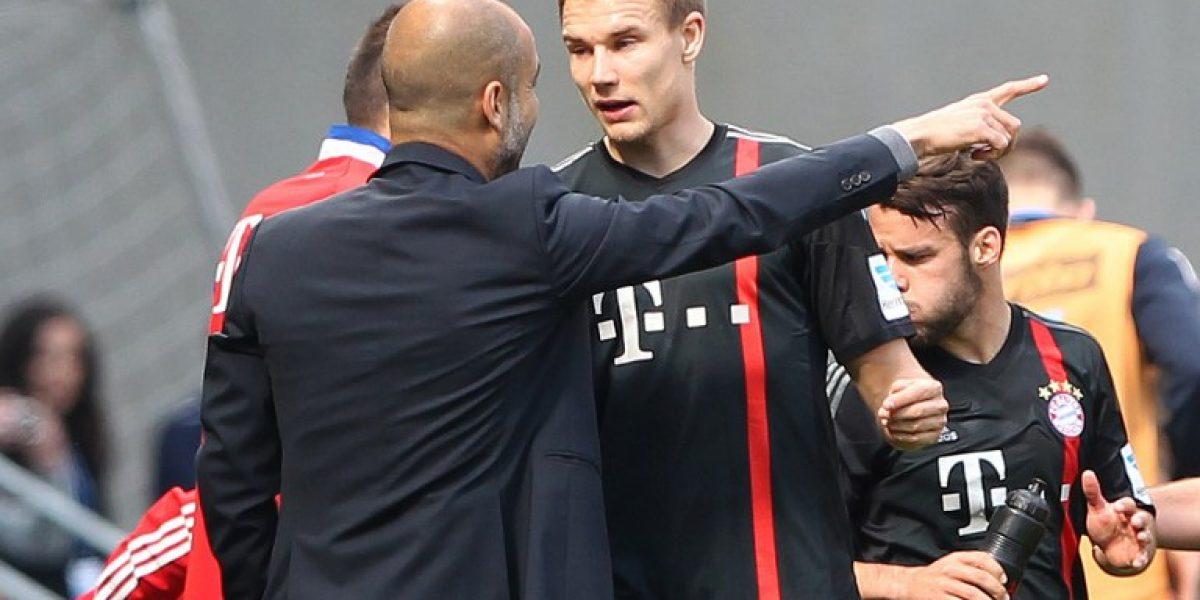 Jugador de Bayern Munich dio la bienvenida a Arturo Vidal