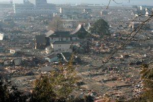 En la tarde del día 12 se produjo una explosión que derribó parte del edificio Foto:Getty Images. Imagen Por: